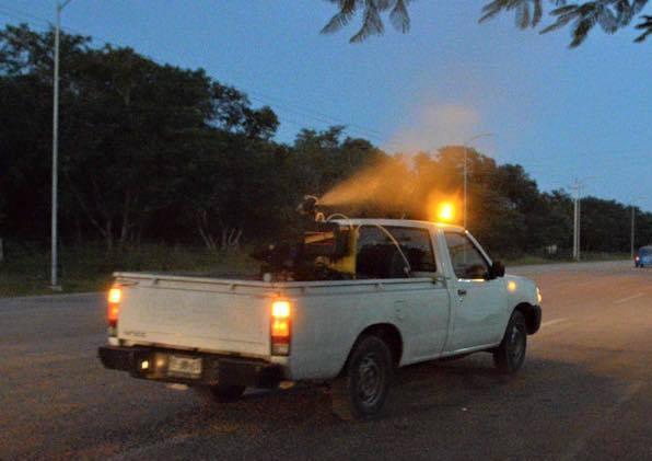 Continúa campaña de fumigación en Mérida
