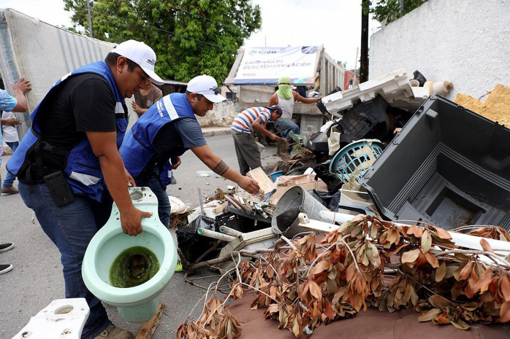 Recolectan más de 400 toneladas de cacharros en Mérida