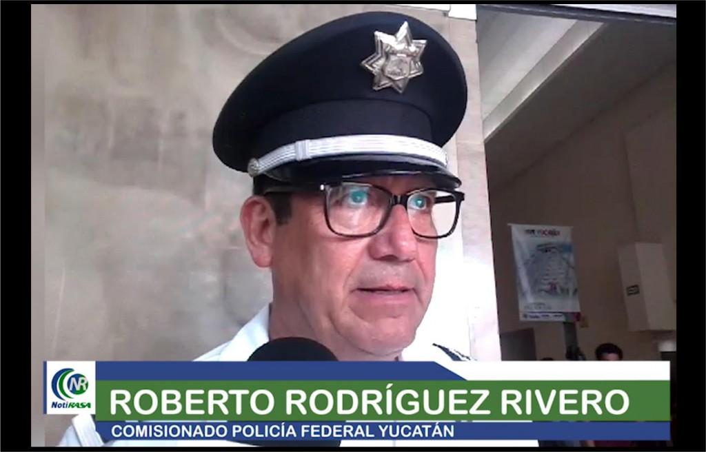 Roberto Rodríguez, comandante de la Policía federal