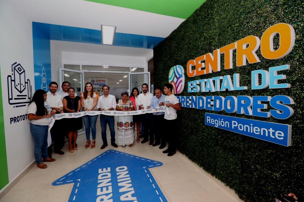 Centro de Emprendedores apoya a empresarios yucatecos
