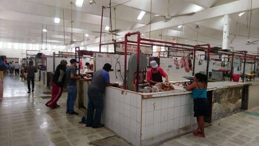 Mayor seguridad en mercado de Valladolid