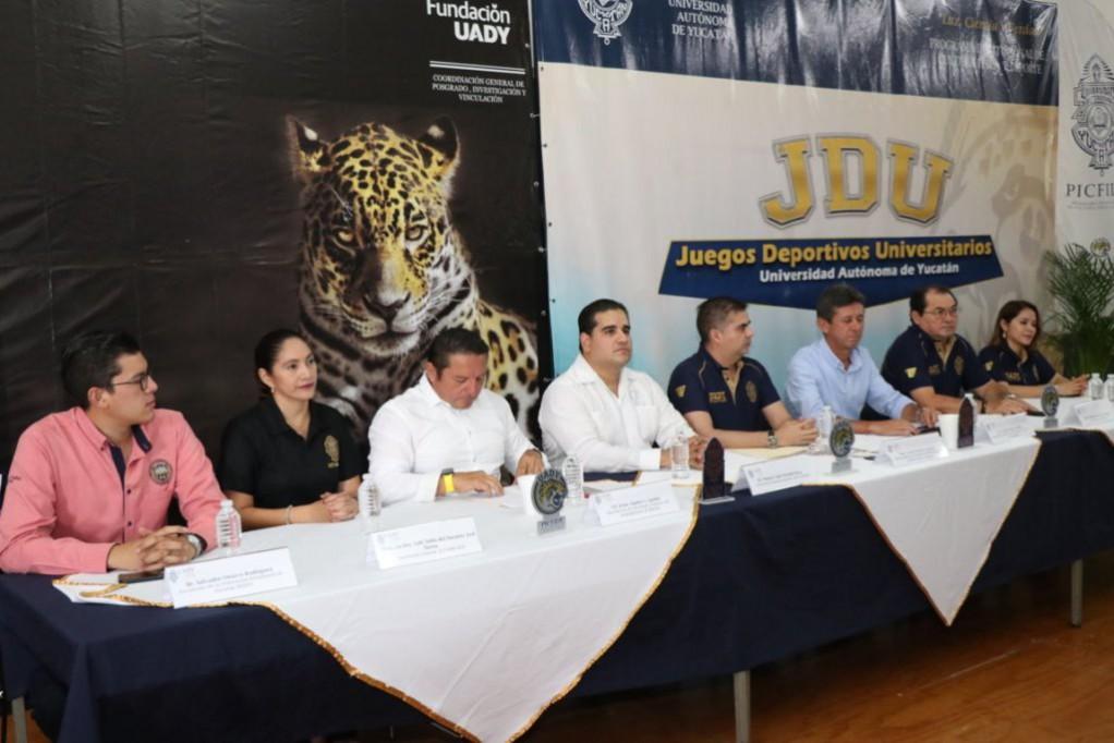 Presentan los Juegos Deportivos Universitarios 2019
