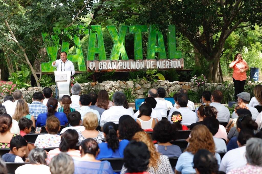 """Destacan """"diseño participativo"""" en espacios públicos de Mérida"""