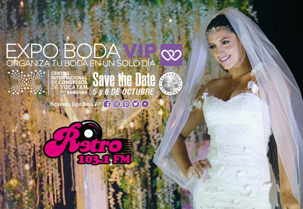 Expo Boda VIP,  5 y 6 de octubre