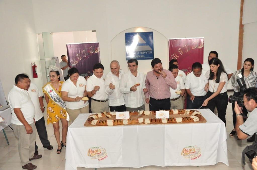 El patrocinio de Mega Rosca en Tizimín es privado