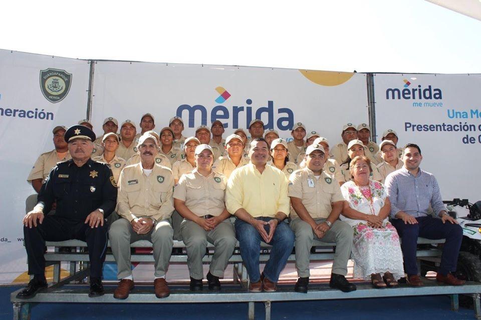 Mérida cuenta con nuevos guardaparques