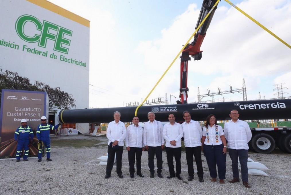 Comienza la construcción de planta eléctrica en Yucatán