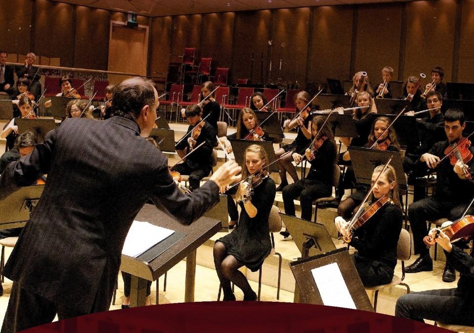 "¡En Mérida! La orquesta sinfónica ""Matteo Groffiller"""