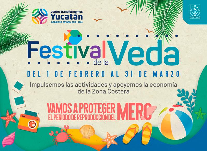 Festival de la Veda en Chelem y Chuburná Puerto