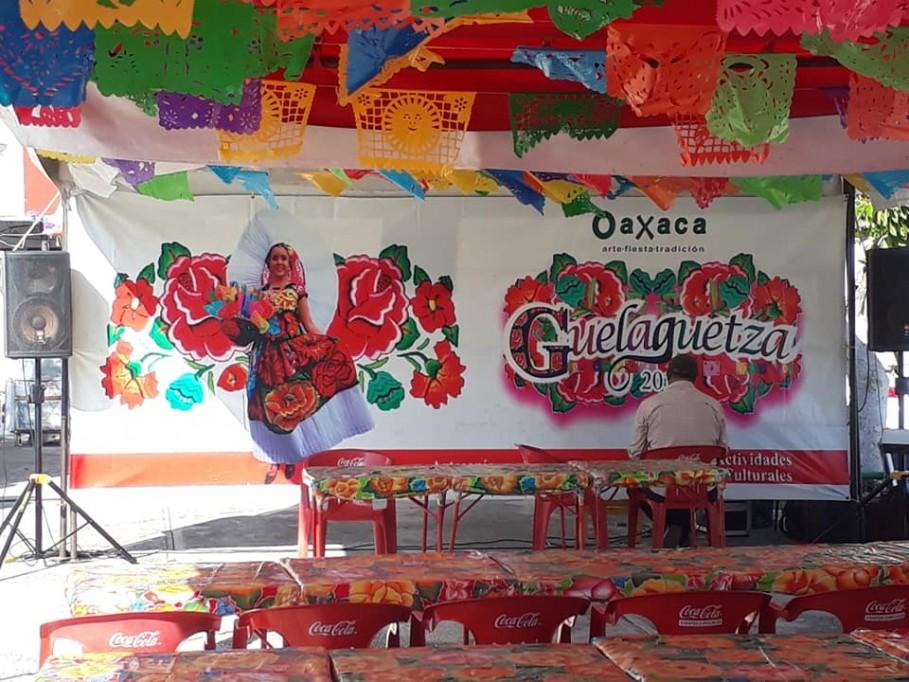 Festival Oaxaca y la Guelaguetza en Mérida, ahora en Santa Ana