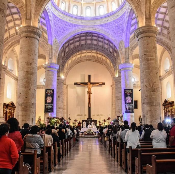 Arzobispo destaca valores culturales en Mérida