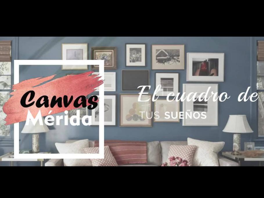 Canvas Mérida, para personalizar tu espacio