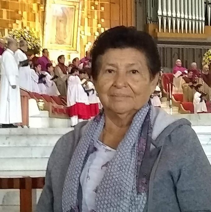 La maestra Ethel Trujillo ya sin síntomas de Covid-19