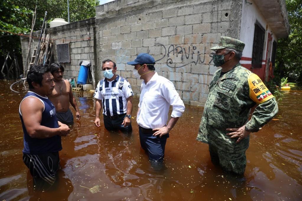 Conagua emite dictamen para declaratoria de desastre natural