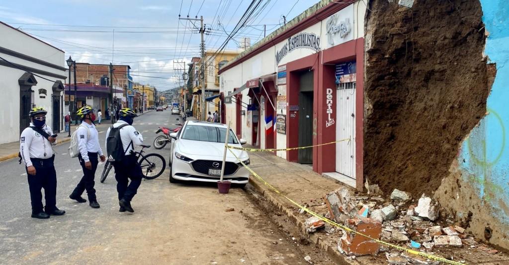 En medio de la pandemia, tiembla en Oaxaca