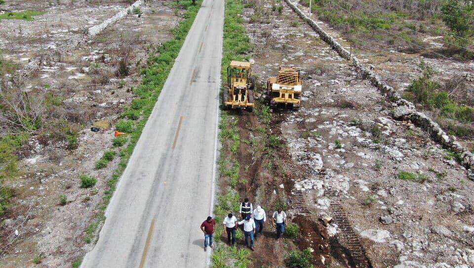 Reactivan trabajos en obras para Yucatán