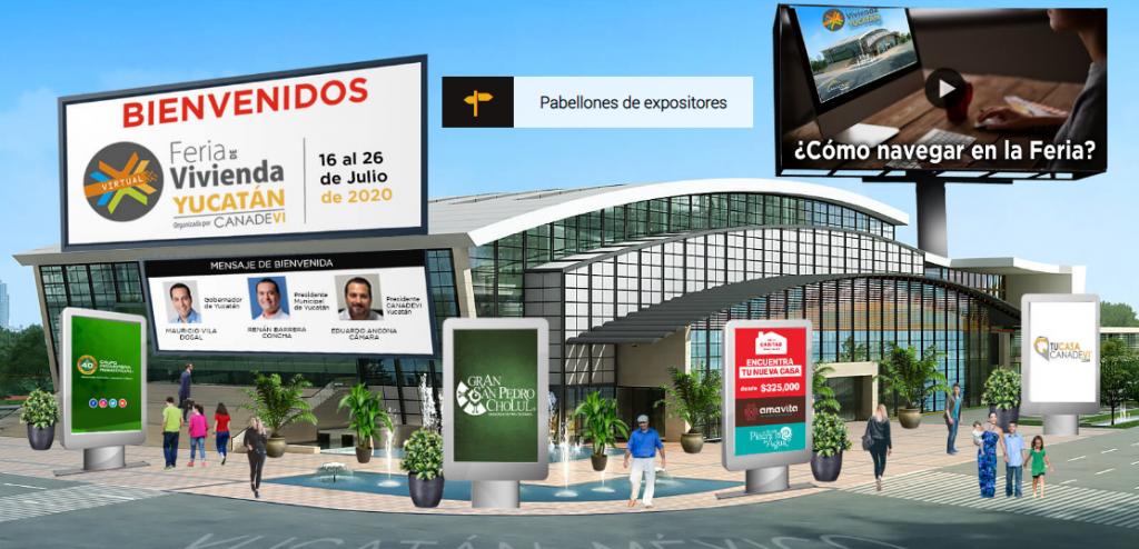 Se realiza con éxito la primera Feria virtual de la Vivienda en Yucatán