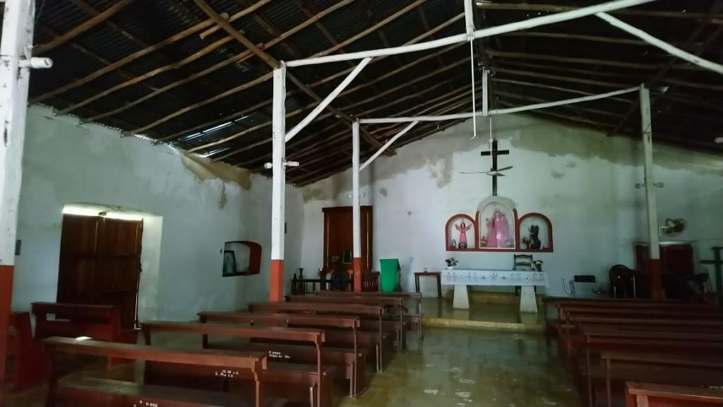 Edificio religioso histórico de Sucopo se deteriora más