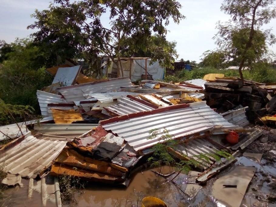 Asentamientos ilegales en Mérida, afectados por Delta