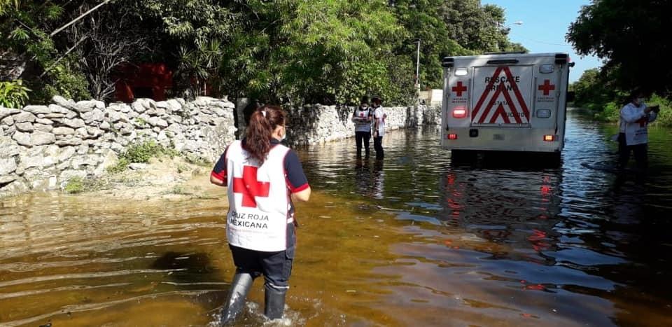 Cruz Roja recolectará víveres para damnificados  por inundaciones