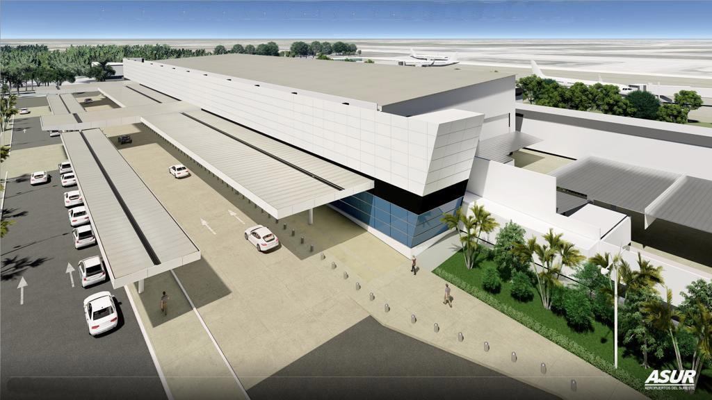 Aeropuerto de Mérida sin novedad tras el paso de Gamma y Delta