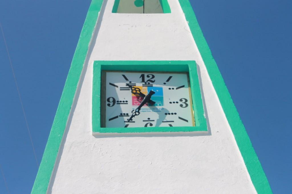 Restauran reloj municipal de Río Lagartos