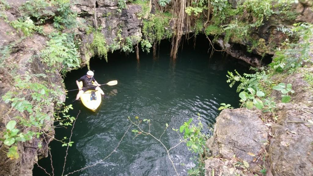 Vuelven a explorar cenote de Sucilá