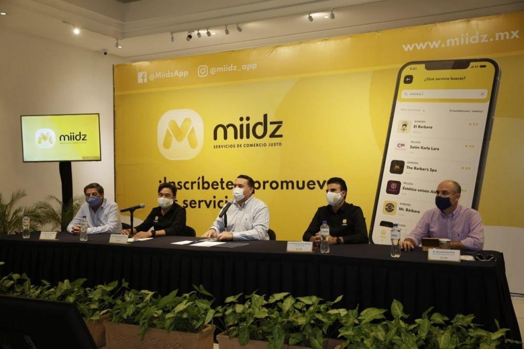 """""""MIIDZ"""", nueva aplicación de servicios en Mérida"""