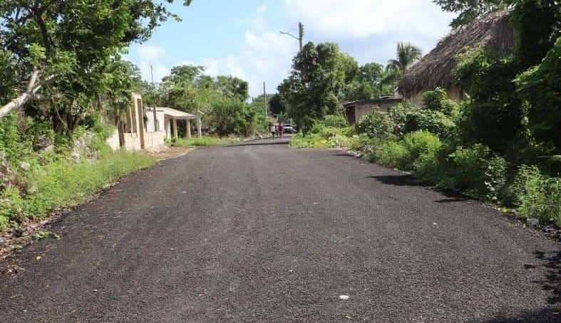Con pavimentación de calles desarrollo de Tizimín