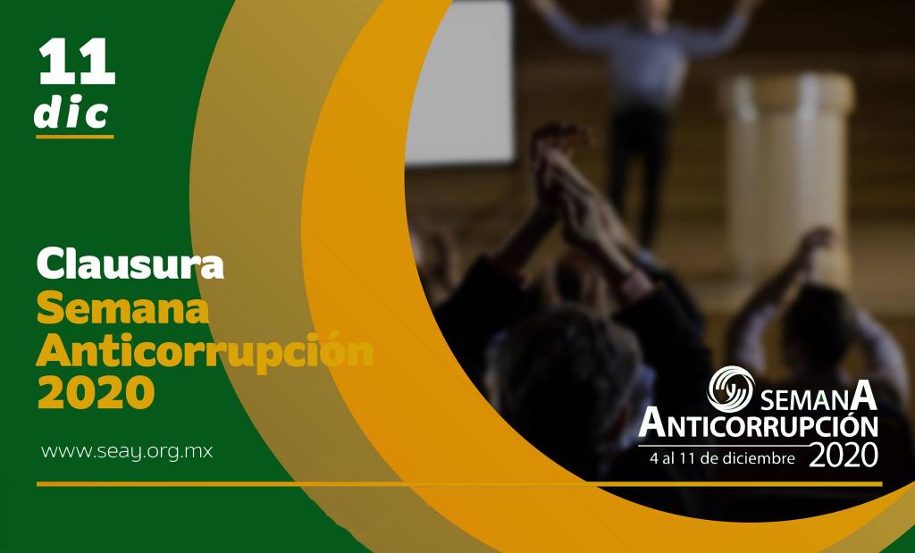 Este viernes termina la Semana Anticorrupción