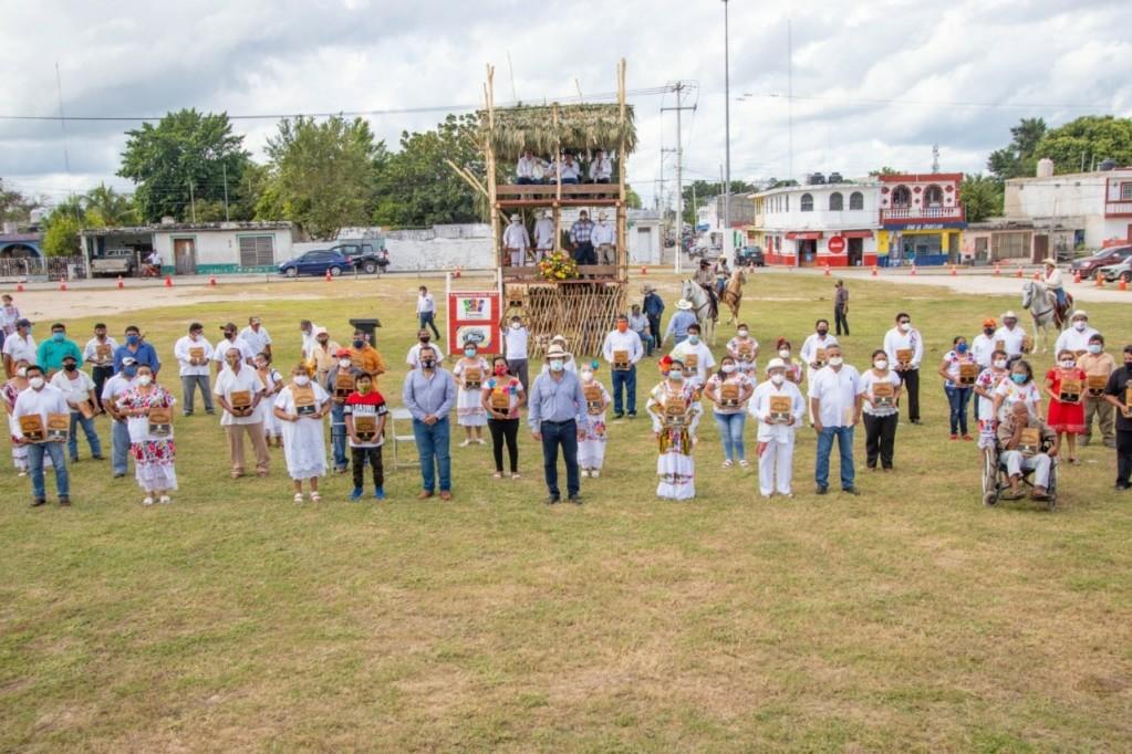 Reconocen a palqueros de Tizimin por preservar tradiciones