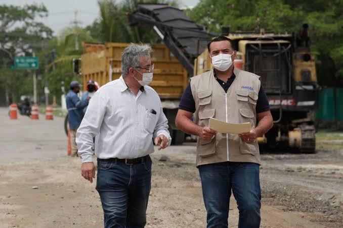 Mantienen infraestructura vial y movilidad en Mérida