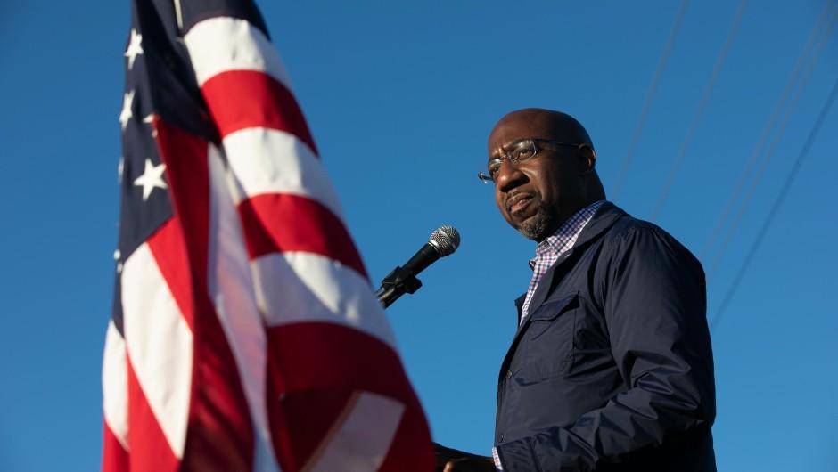 El primer senador afroamericano en Georgia…