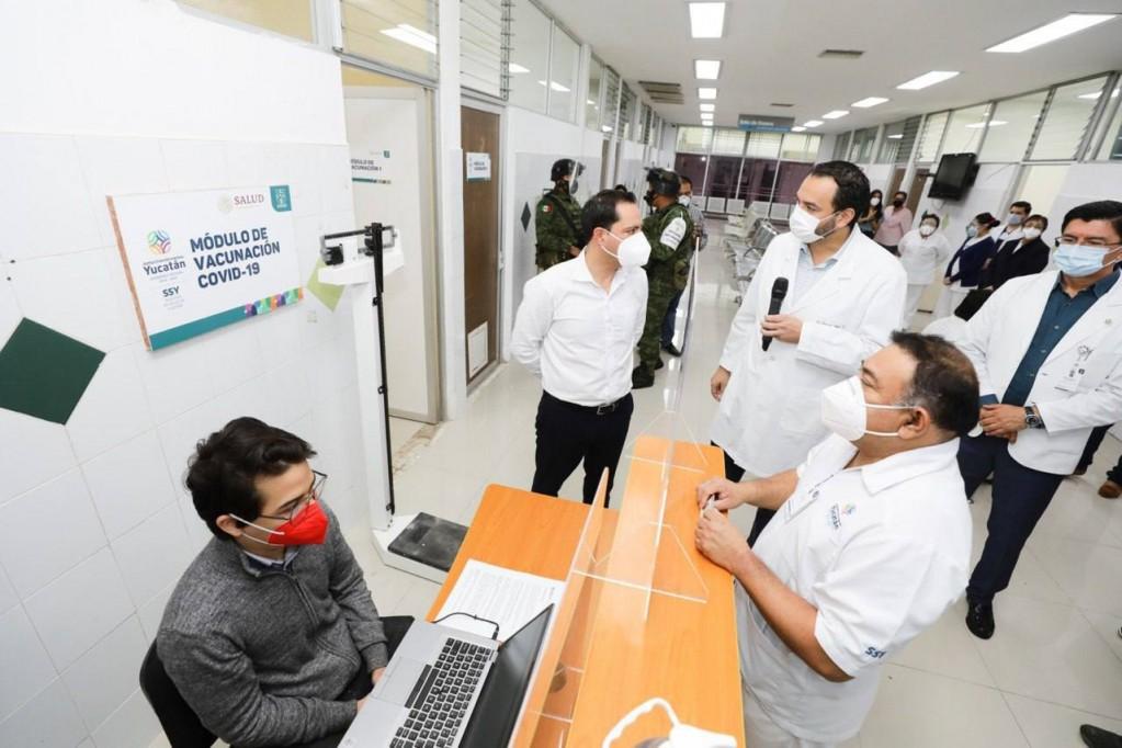 En febrero comenzará la vacunación entre la población general