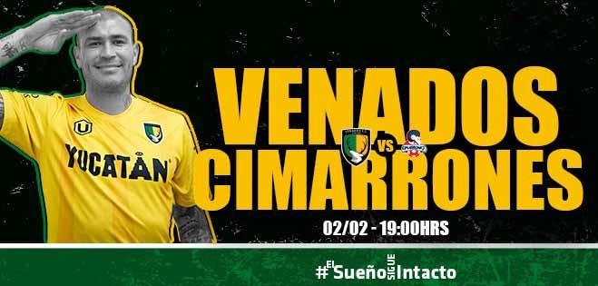 Venados FC buscará su primera victoria ante Cimarrones