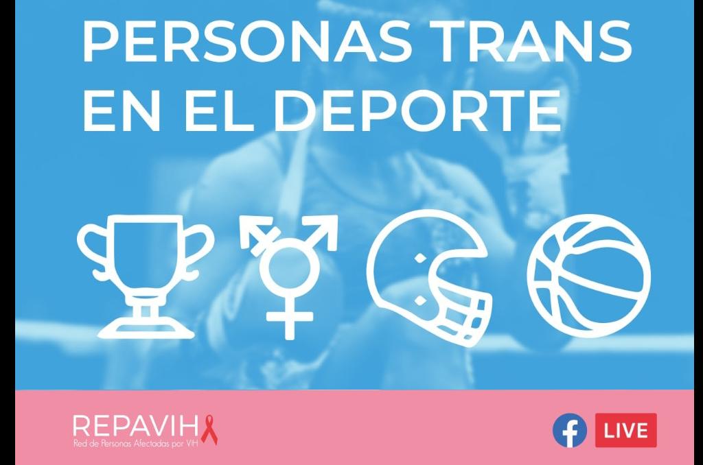 """Hoy, """"Personas trans en el Deporte""""…"""