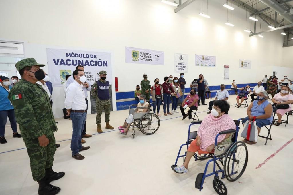 """""""Los apagones no van afectar el proceso de vacunación"""": Mauricio Vila Dosal"""