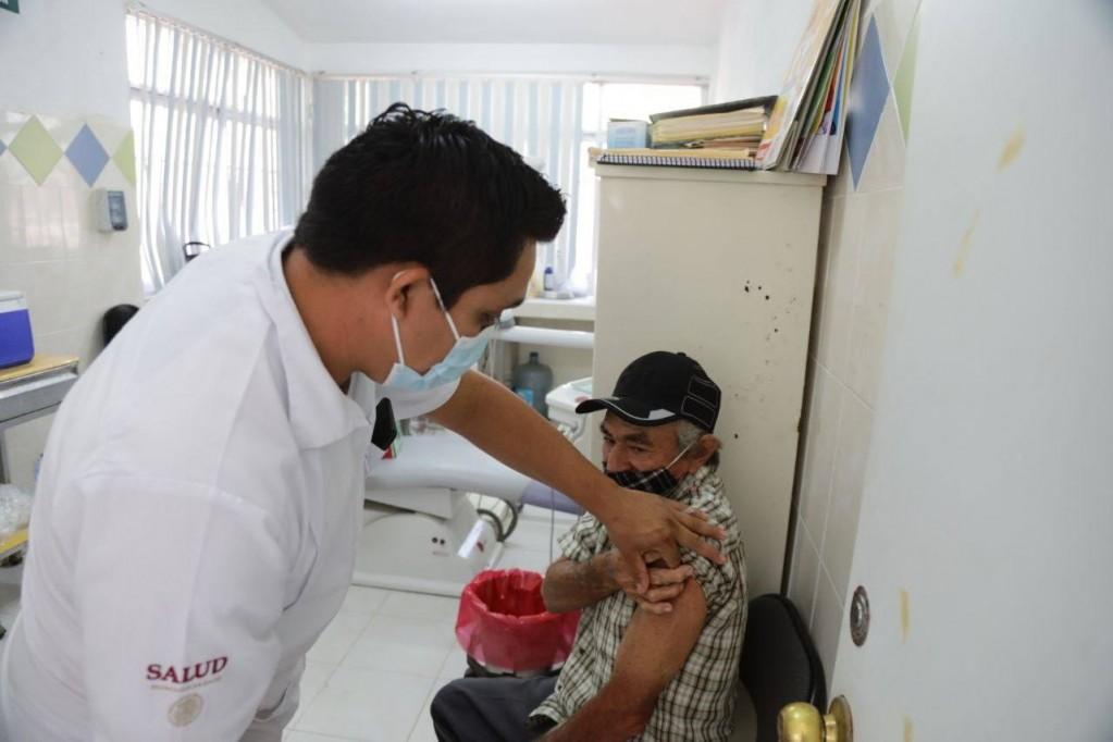Chacsinkin es el primer municipio de Yucatán que completa el proceso de vacunación
