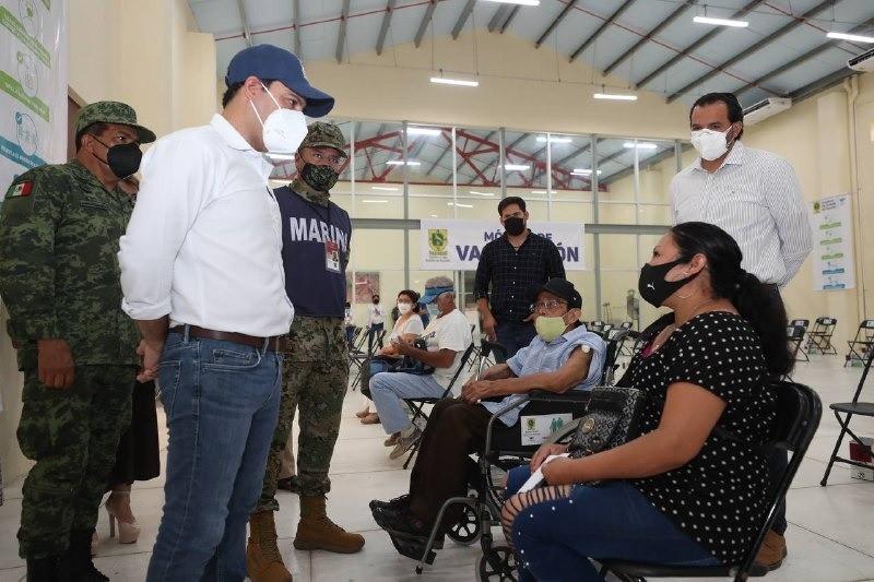 El 21 de abril se concluirá la vacunación con la primera dosis de Adultos Mayores en Yucatán