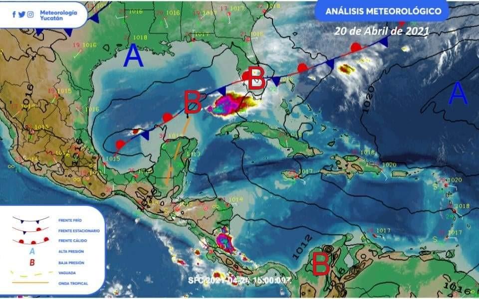 Por emisiones de volcán en el Caribe, este miércoles se pudiera presentar lluvia ácida en la Península