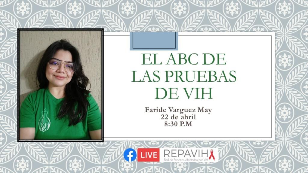 """""""El ABC de las pruebas de VIH"""""""