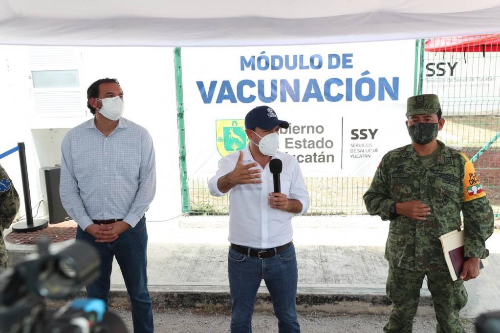A partir del lunes 3 de mayo, se vacunará al resto del personal médico