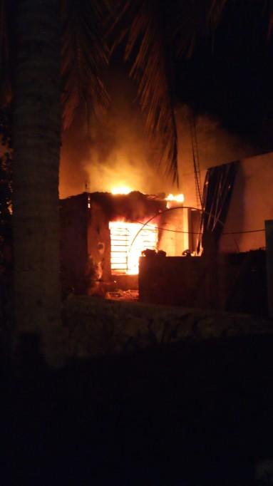 El fuego arrasó con todo, incluso la herencia para su nieta