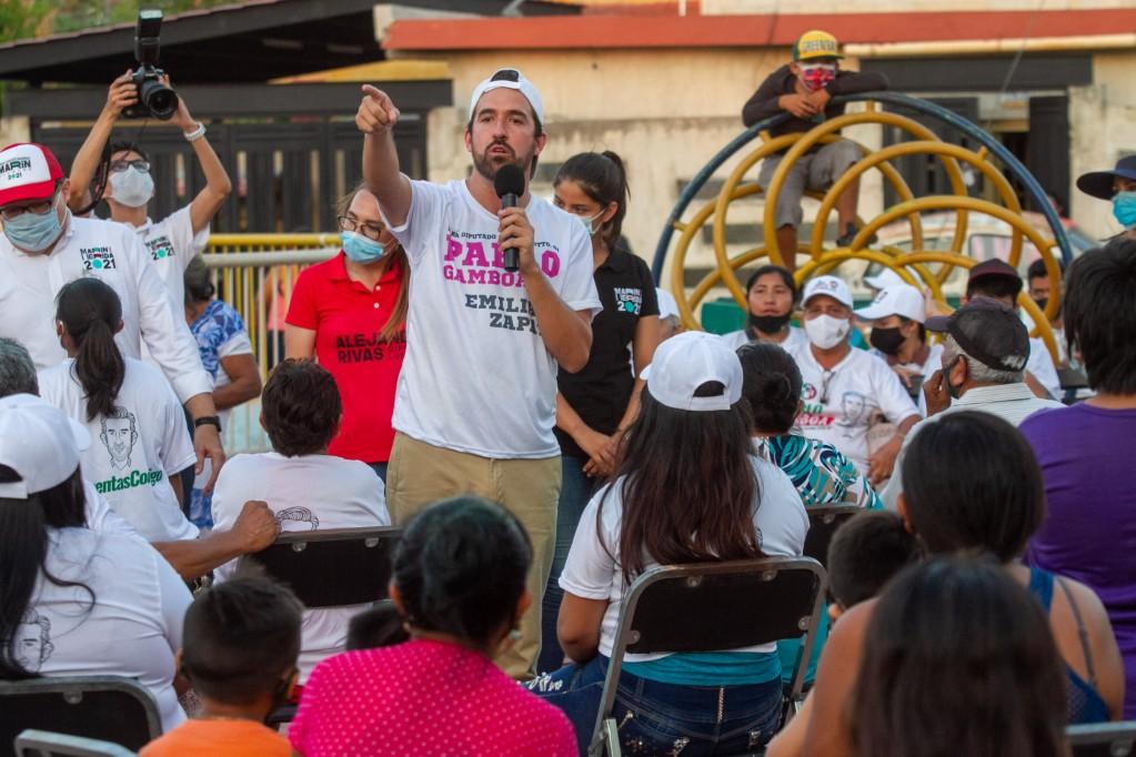 Pablo Gamboa presenta su Plan Legislativo