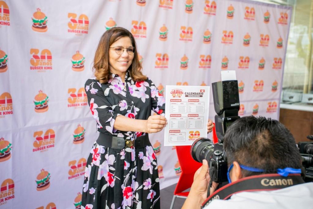 Burger King cumple 30 años en México