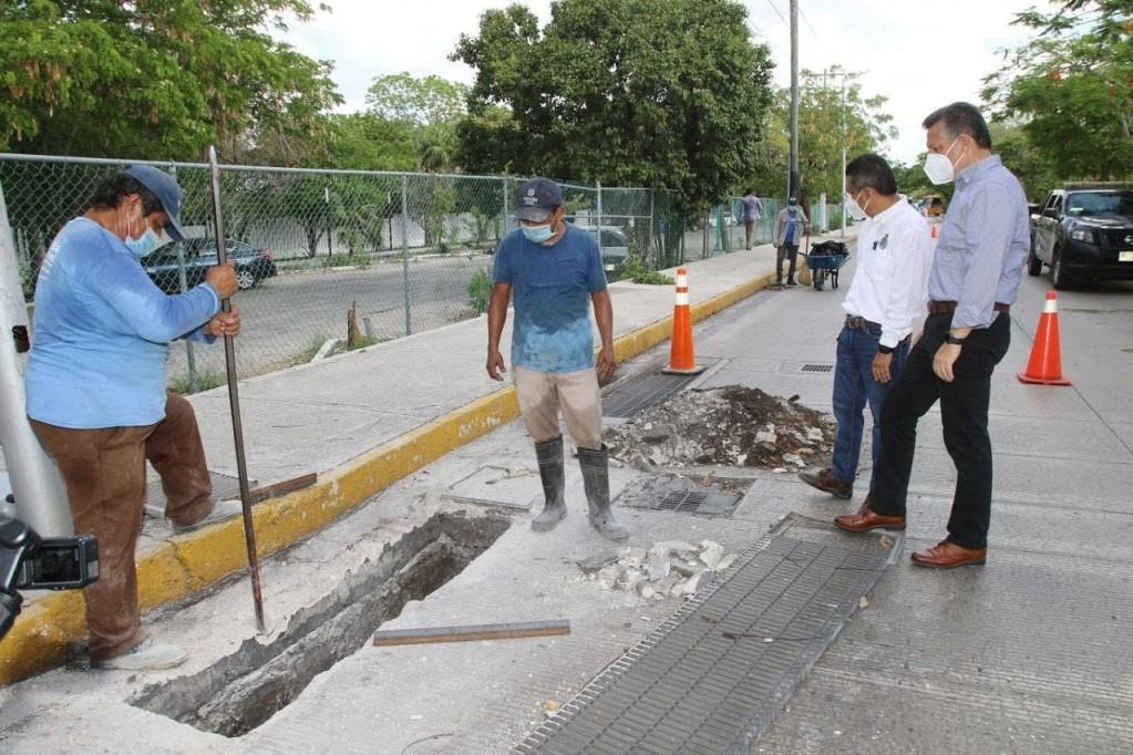 Intensifican mantenimiento preventivo por las lluvias