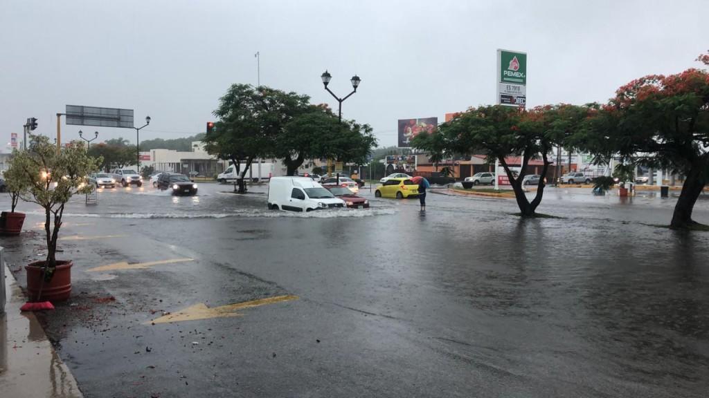 Las 5 vialidades más conflictivas por la lluvia en Mérida