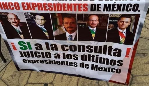 """Yucatecos coinciden en """"enjuiciar"""" a ex Presidentes"""