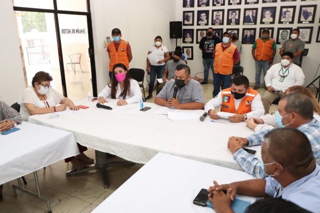 Instalan Comité de Protección Civil en Tizimín