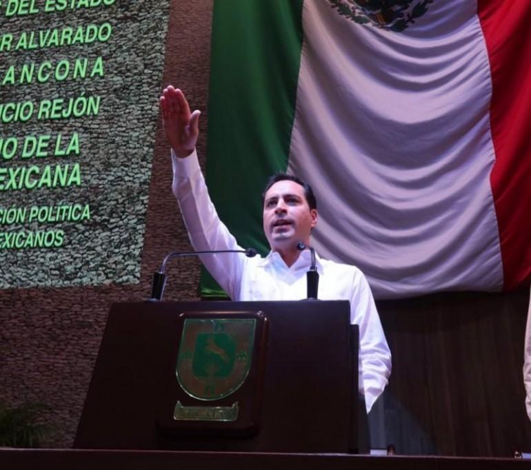 Mauricio Villa cumple 3 años como Gobernador del Estado